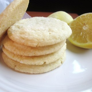 Lemon Almond Cookies