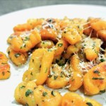 Sweet Potato Gnocchi with Browned Butter and Basil