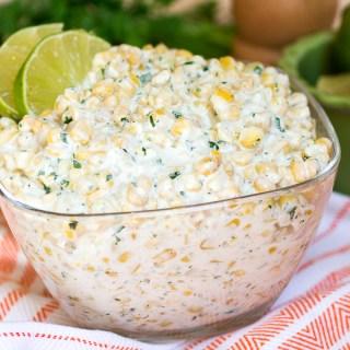 Creamy Mexican Corn Salad