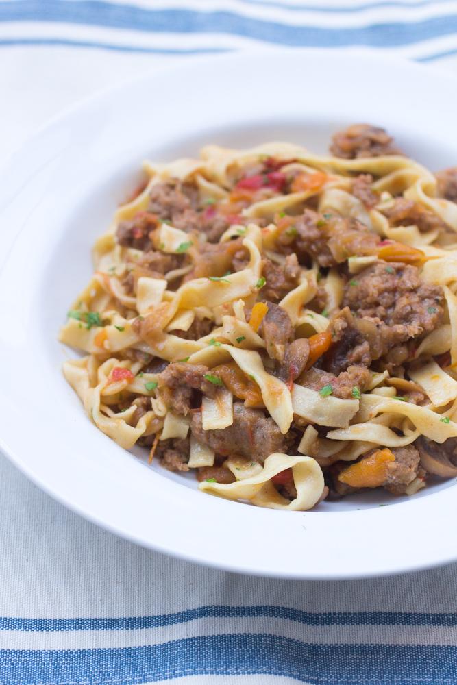 how to cook sweet italian pork sausage