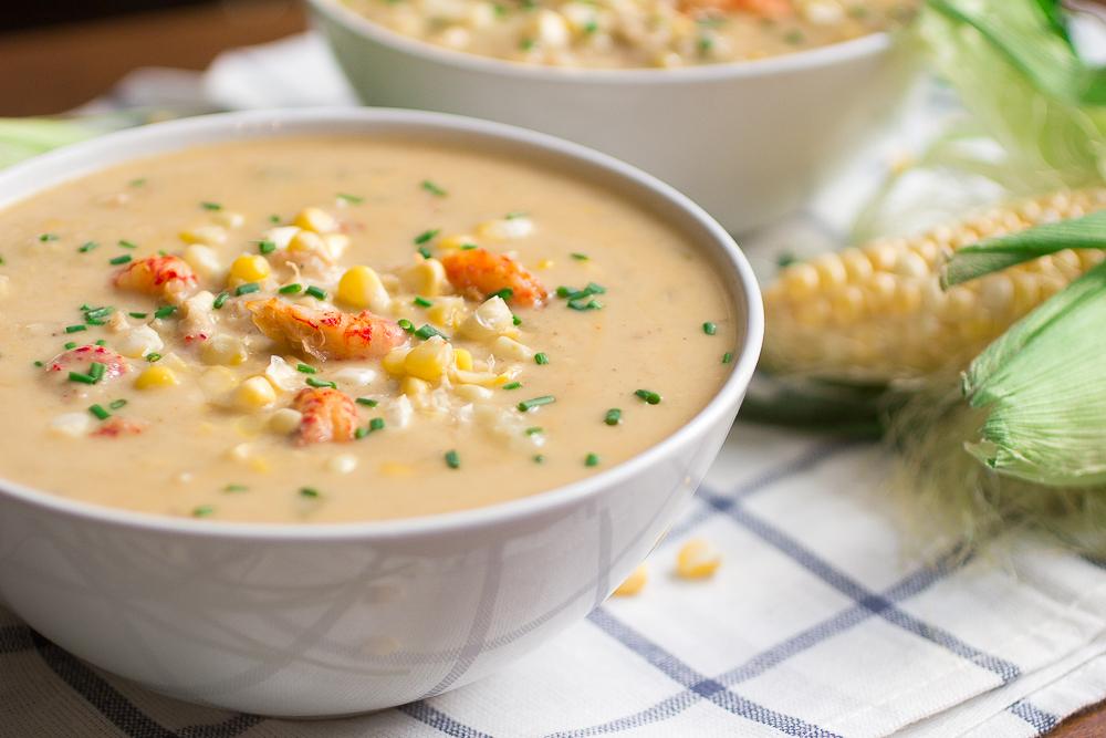 Sweet Corn and Crawfish Chowder