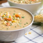 Sweet Corn and Crawfish Chowder