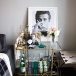 Turn your Bar Cart into a Statement Piece