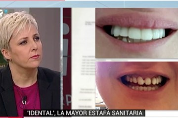 Wonder Woman en el programa Buenos Días Madrid sobre la estafa iDental.