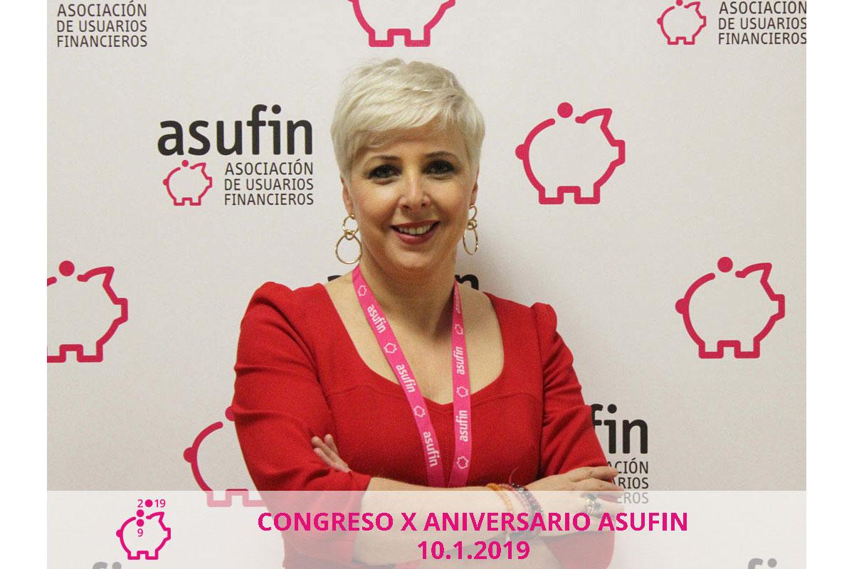 Congreso Asufin 2019. Patricia Suárez