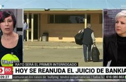 Patricia Suárez en Telemadrid sobre el caso Bankia