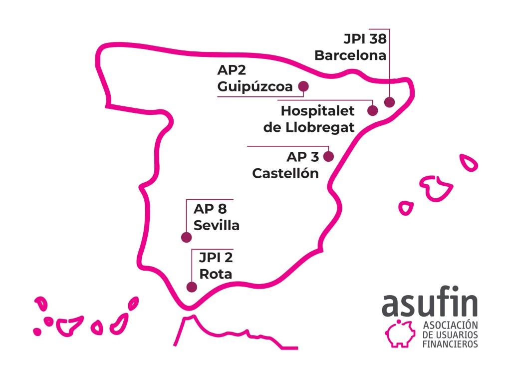 Vencimiento Anticipado. Mapa Resoluciones Judiciales. 12.06.2019. ASUFIN.