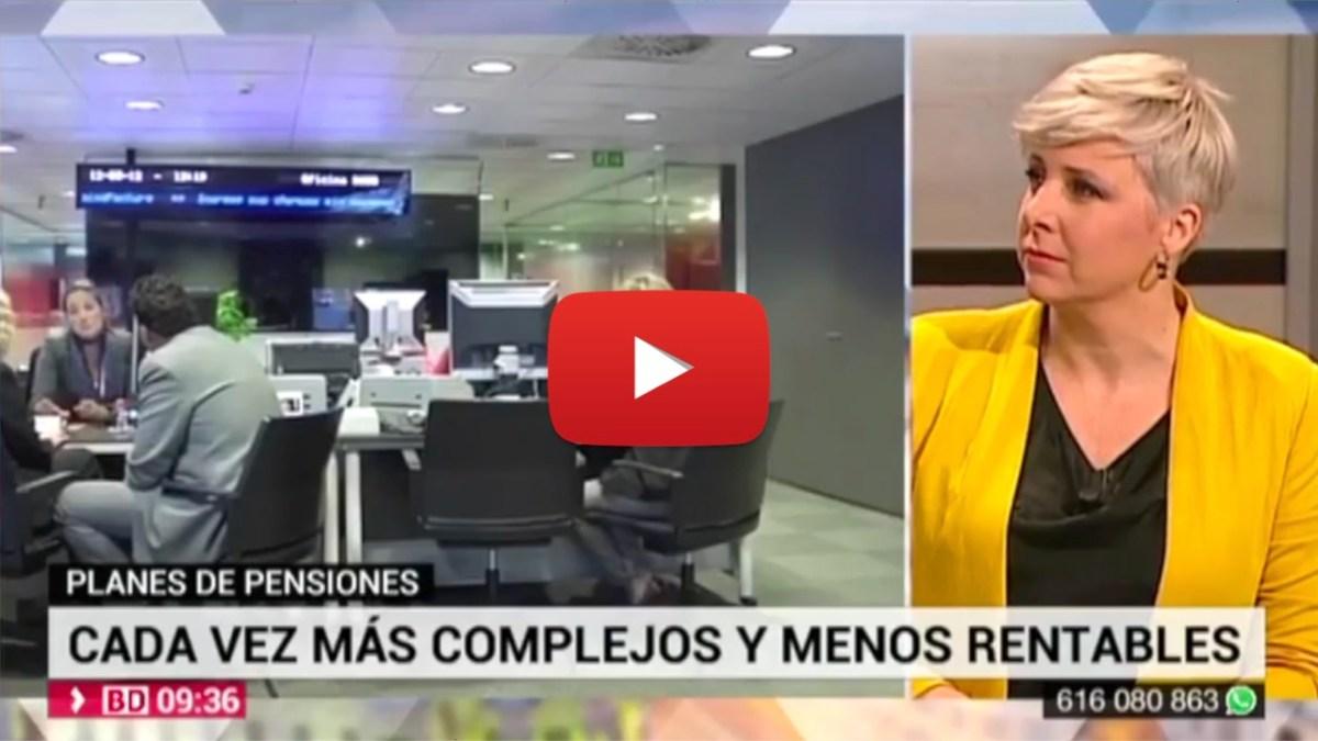 Patricia Suárez sobre planes de pensiones - TELEMADRID - 08.11.19