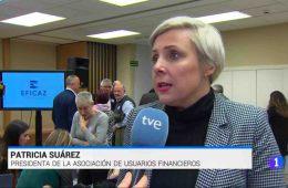 Patricia Suárez en TVE sobre el nuevo Fichero Eficaz en el juego - 17.02.20