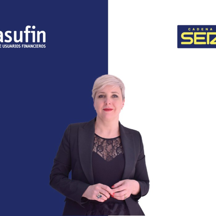 DIA MUNDIAL DEL CONSUMIDOR: ASUFIN  en CADENA SER- 15.03.20