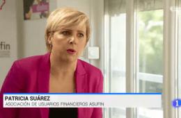 Patricia Suárez en TVE sobre los créditos ICO a alquileres