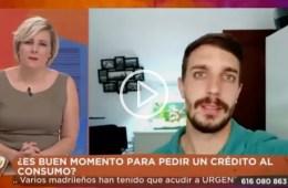 Patricia Suárez en Juntos de Telemadrid