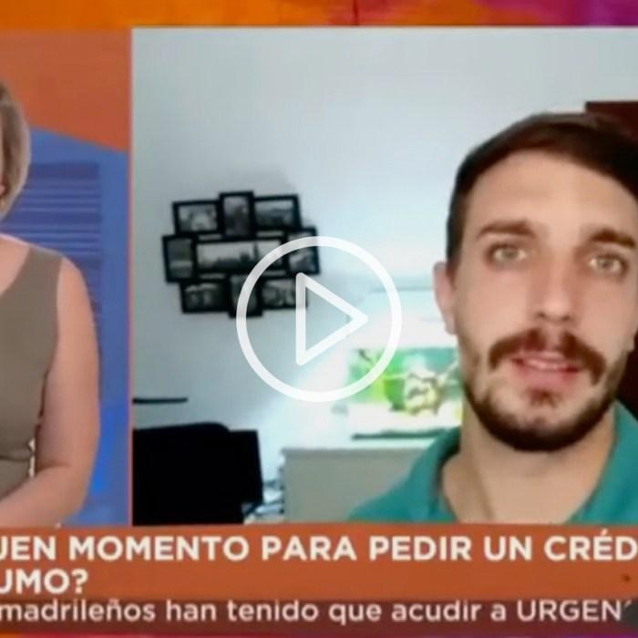 Patricia Suárez analiza cómo ha afectado la COVID-19 al sobreendeudamiento en TELEMADRID – 13.07.20