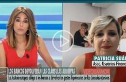Patricia Suárez sobre la sentencia del TJUE de gastos hipotecarios en El Programa del Verano
