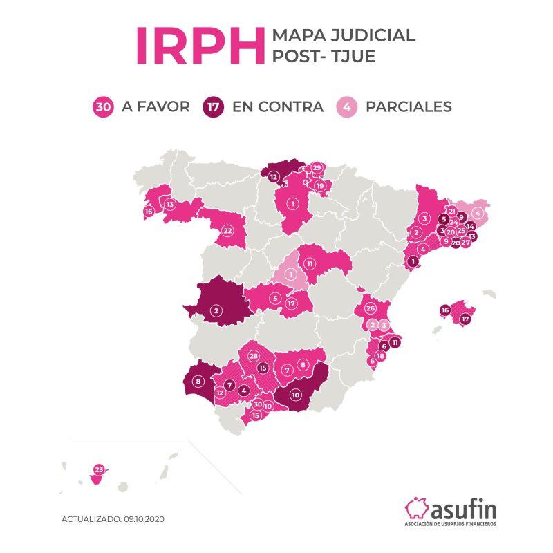 MAPA IRPH