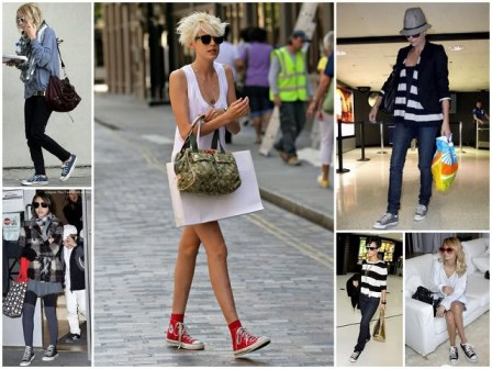 Best Ways To Wear Converse Shoes For GIrls Women