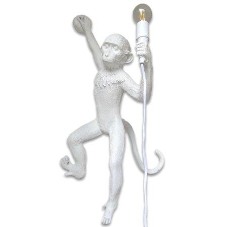 aap lamp wit rechtshangend