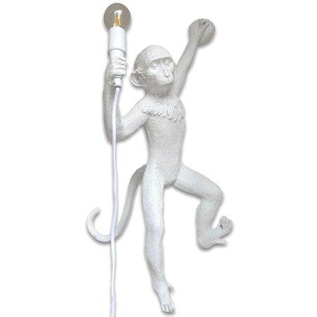 Monkey lamp linkshangend