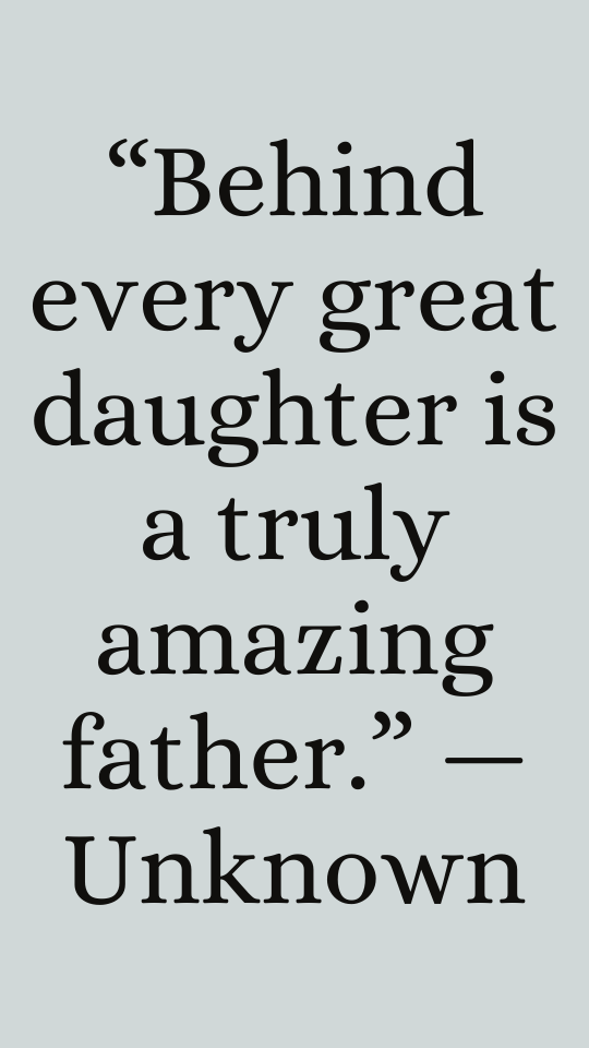 Thank you for being a great father-Quotes