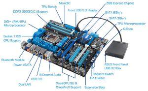 P8Z68 DELUXE   Motherboards   ASUS Global