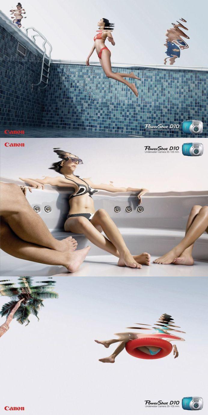 anuncio canon, sumergible