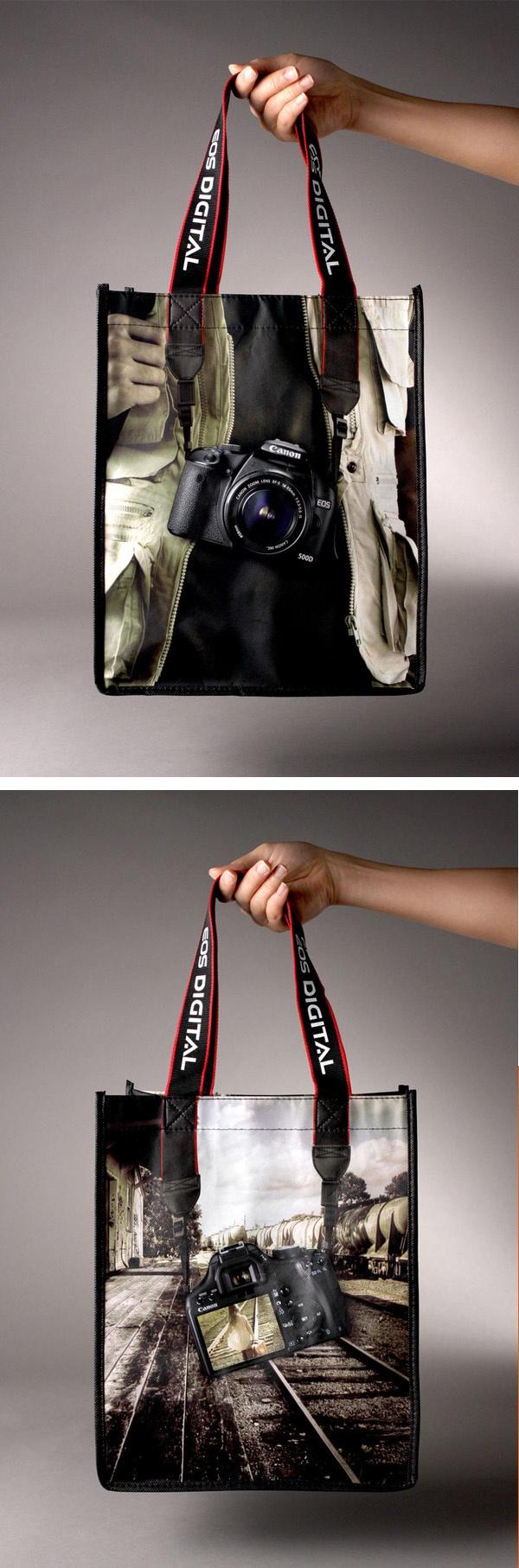 anuncio canon, bolsa