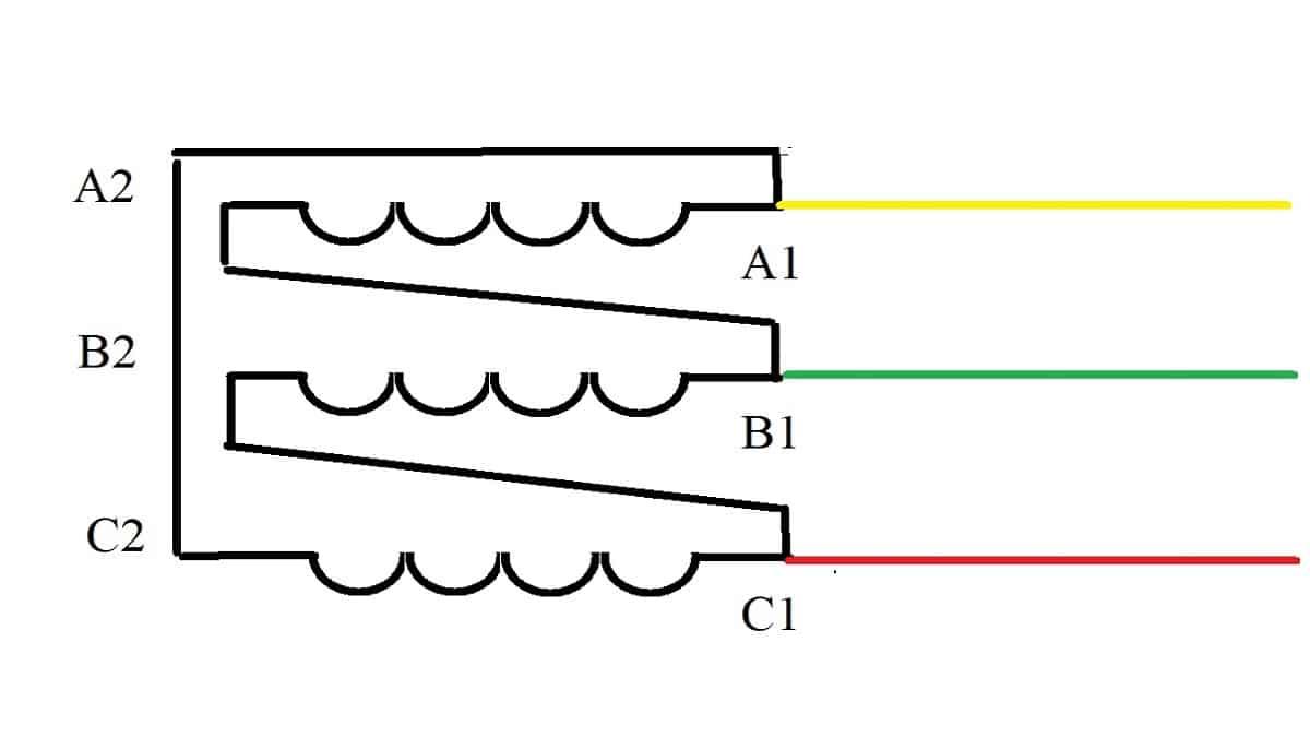 Қосылу диаграммасы үшбұрыш