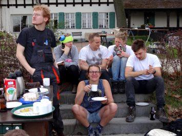 Kaffe(-Bier-)pause
