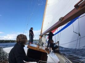 Gennaker segeln auf Prosit IV