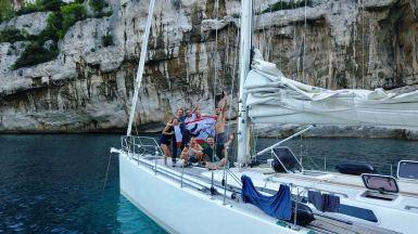 Walross 4 Crew Seereise 2018