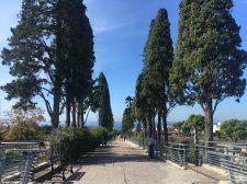Ausflug nach Herculaneum am Vortag der Übergabe, Blick auf den Golf von Neapel
