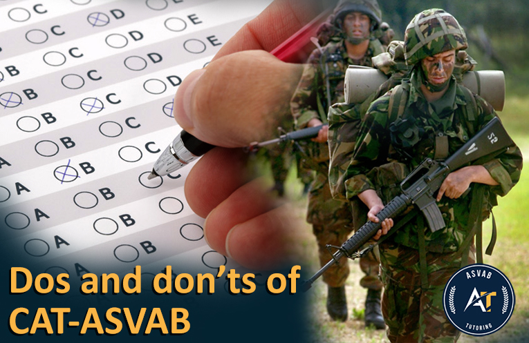 Dos and Don'ts of CAT-ASVAB | ASVAB Test New York