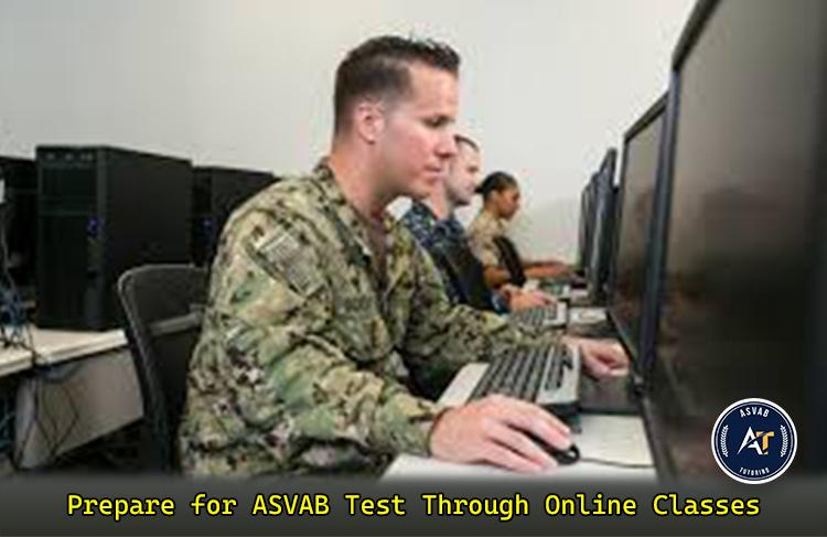 ASVAB Test Through Online Classes