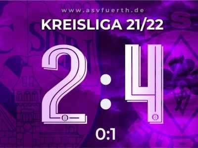 FC Stein 2:4 ASV Fürth (21/22)