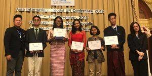Dara asal Bali Raih Penghargaan di AIMUNC Bangkok 2019