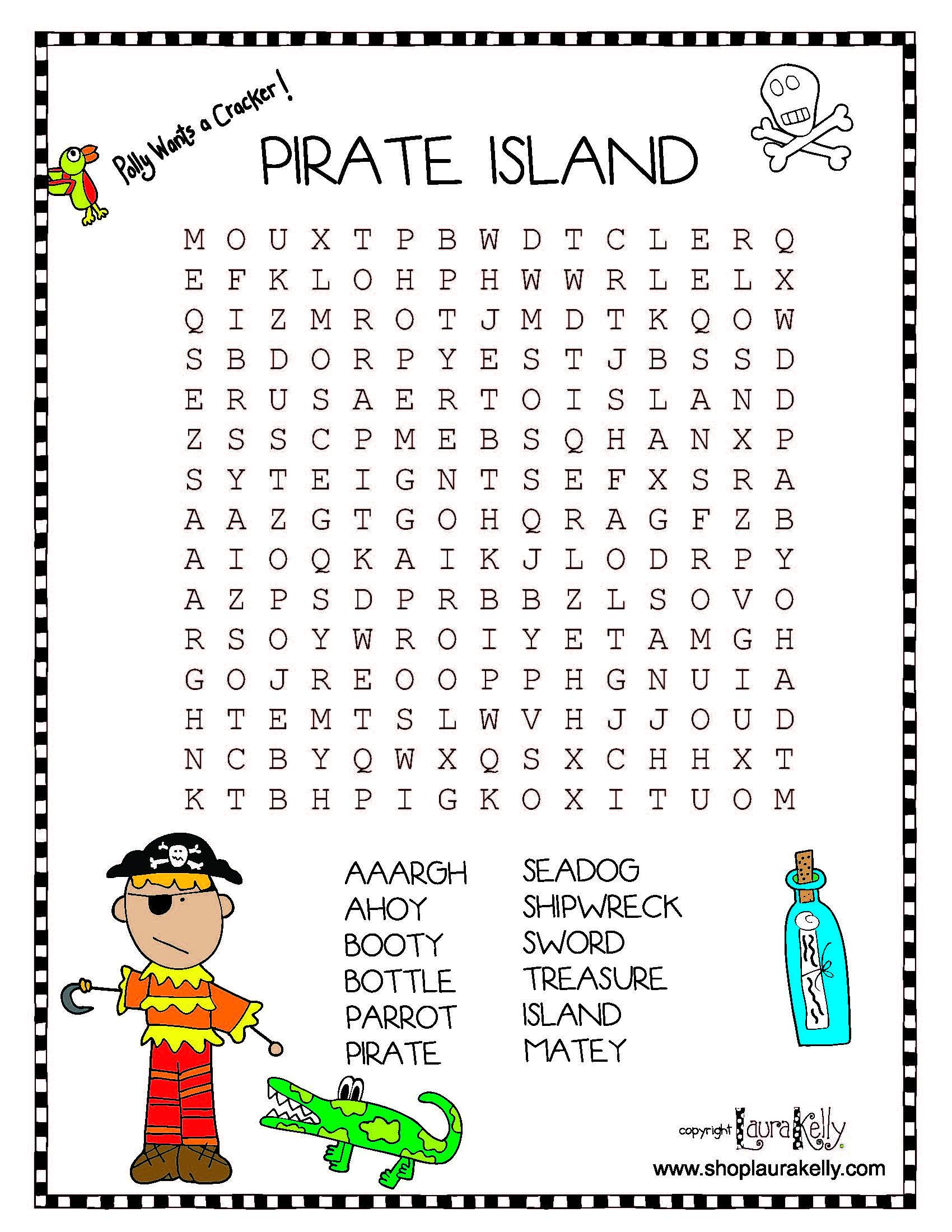 Pirate Fun Featuring Laura Kelly S Pirate Island