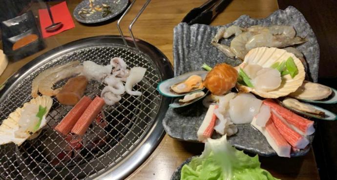Traditional korean bbq