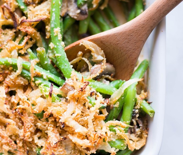 Healthy Green Bean Casserole Healthy Easy Delicious And So Much Better Than