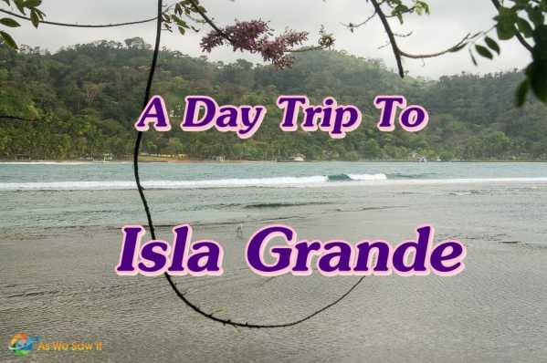 A Day Trip To Isla Grande