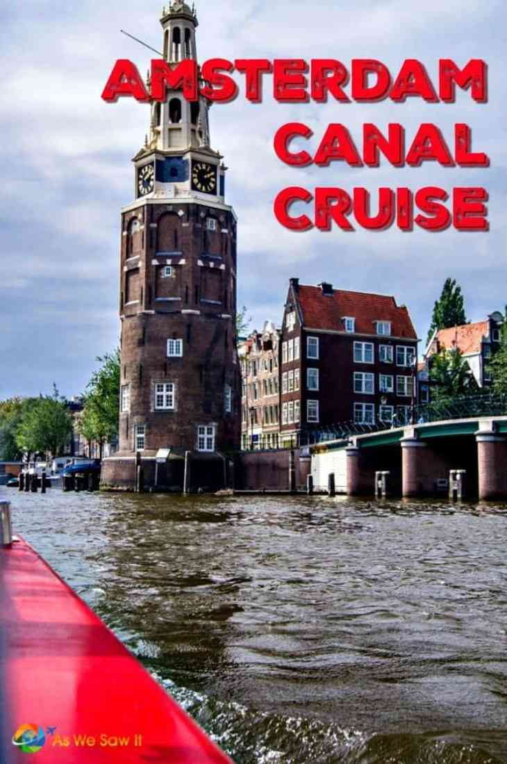 Get a unique perspective of a unique city by taking an Amsterdam canal cruise. It is one of the city's most popular attractions for a reason.