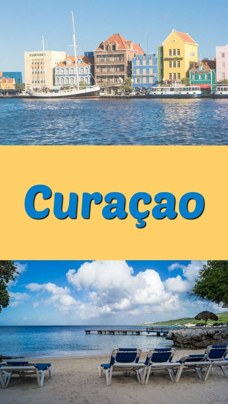 Curacao - a beautiful island in the south Caribbean - is full of colorful buildings and friendly people.