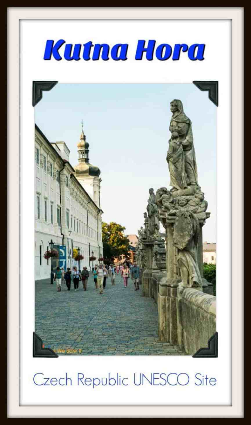 Only an hour from Prague, the ancient silver mining town of Kutna Hora is one of Czech Republic's top destinations. Click the pin to see the itinerary and more photos.