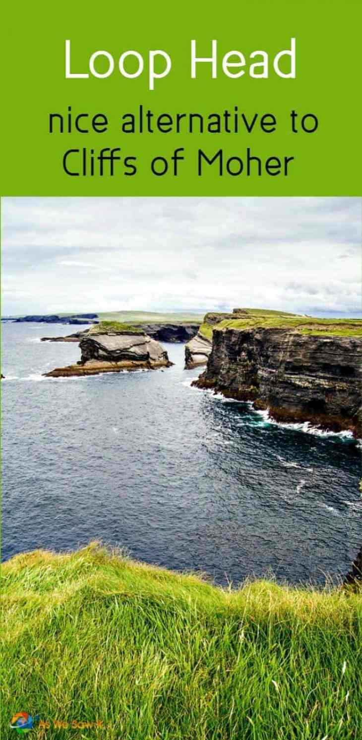 County Clare's Loop Head makes a nice peaceful alternative to the Cliffs of Moher