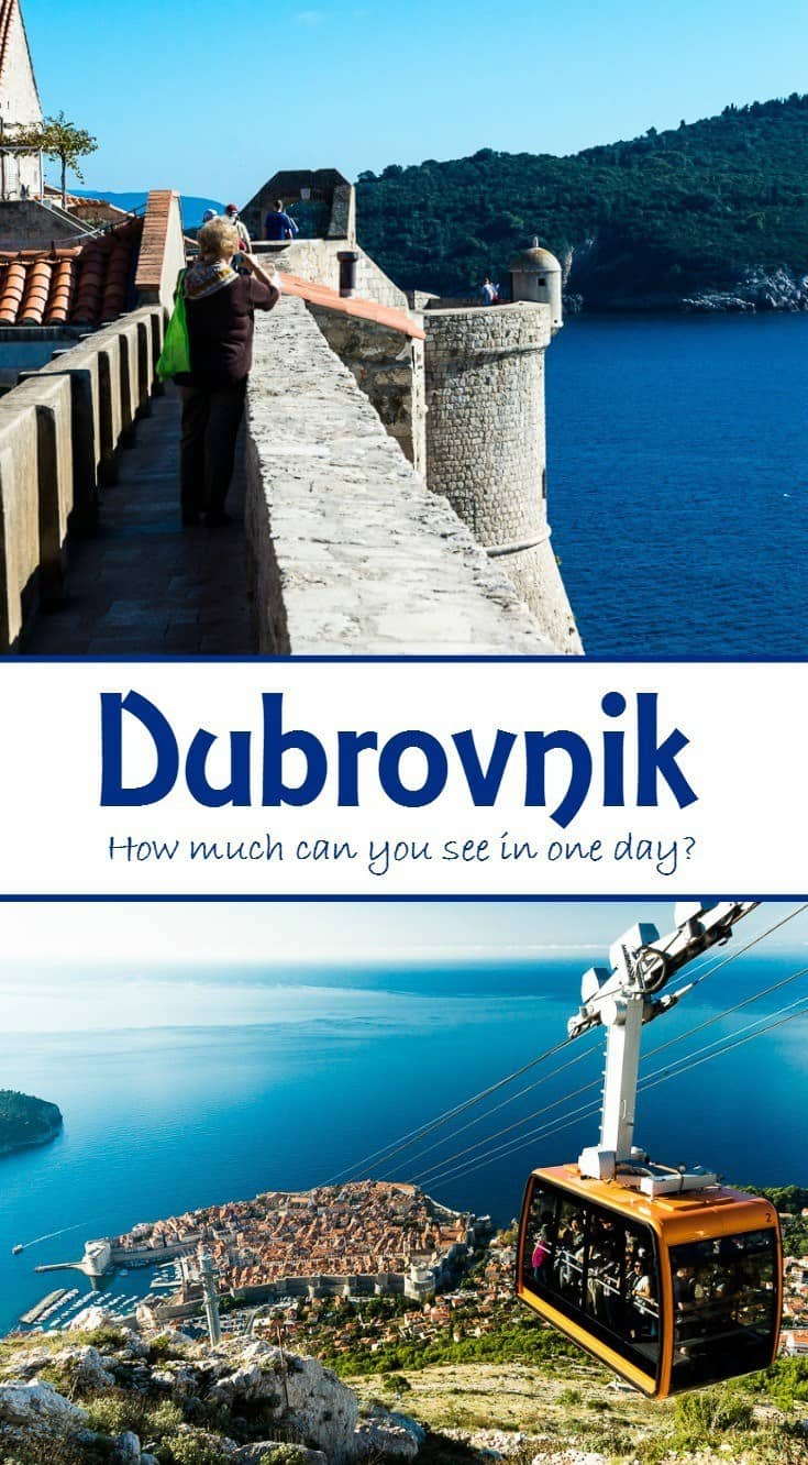 Here is a real life itinerary for one day in Dubrovnik. With planning, you can fit in more than just the walled city itself.