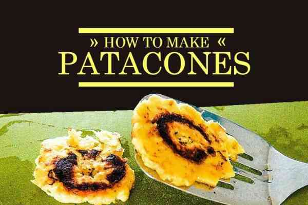 Easy recipe for Patacones, also called Tostones, a popular Latin American snack