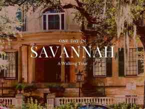 Savannah Walking Tour