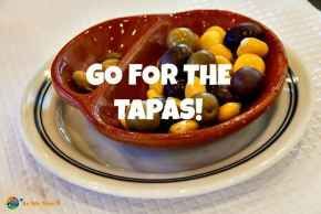 Olives are a typical Portuguese and Spanish tapa