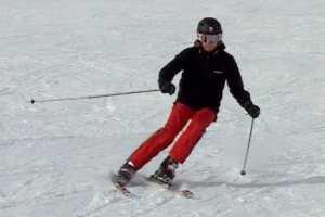 skiing in St. Moritz