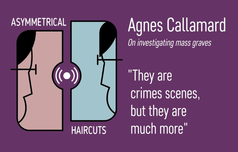 Quote from Agnes Callamard on Mass Graves