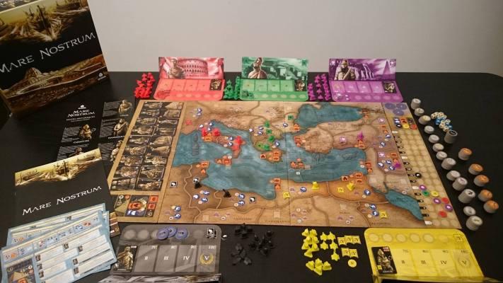 Pour jouer à Mare Nostrum